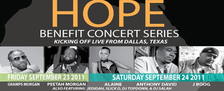 Give Africa Hope Benefit Concert Series