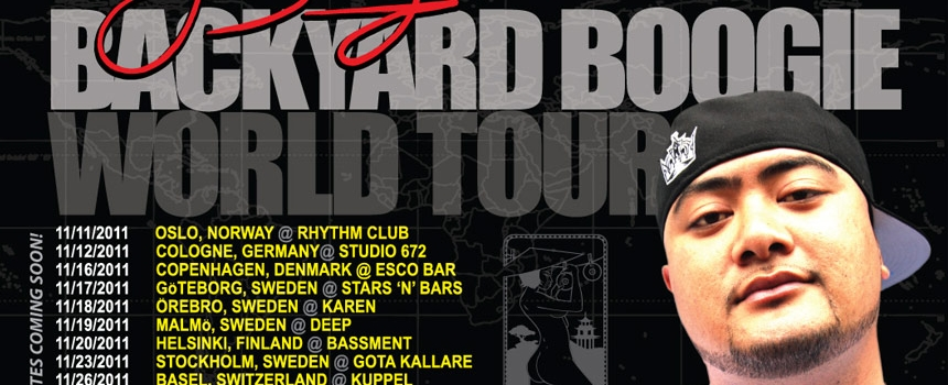 J Boog Backyard Boogie Tour Continues March 2012 Across US!