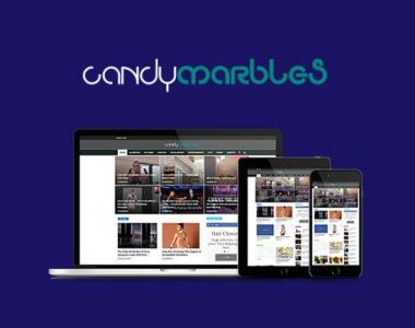Candymarbles Website Development