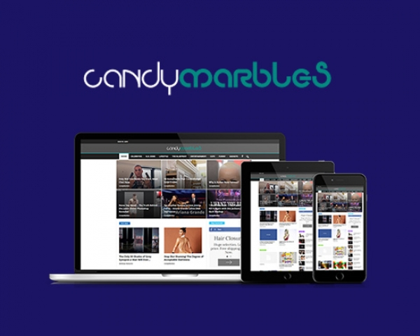 Candymarbles Website Development
