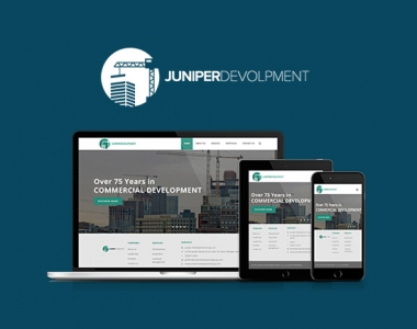 Juniper Development Group website design & Branding