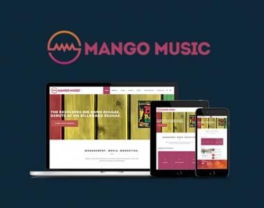 Mango Music Website/Branding