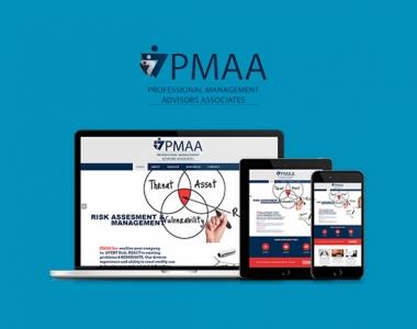 PMAA ( Professional Management Advisors Associates Inc ) Website & Branding