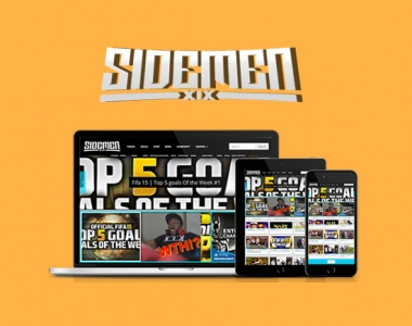 Sidemen Website Development