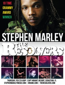 Stephen Marley and The Resolvers